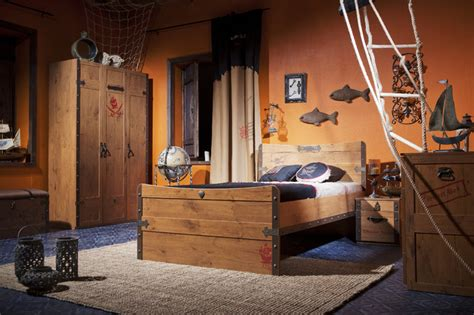 pirate ship bedroom style miami by