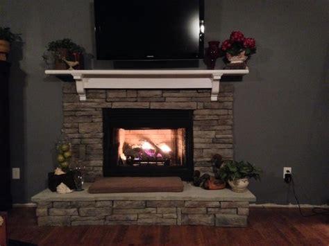 beautiful european stack fireplace in columbia sc