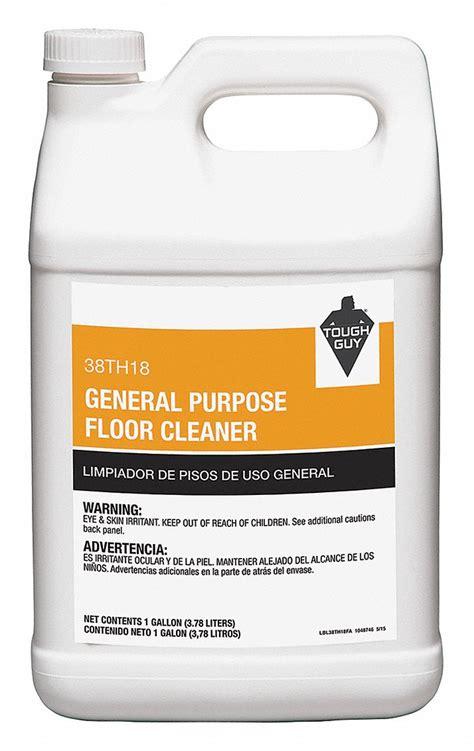 tough guy floor cleaner 1 gal bottle green 38th18 38th18 grainger