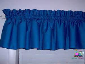 royal blue window valance solid royal blue valance curtain window by babycribskirts
