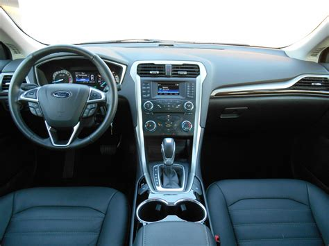 Se Interior by Test Drive 2015 Ford Fusion Se The Daily Drive