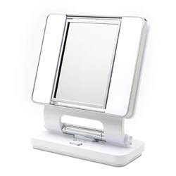 Makeup Mirror With Lights And Magnification Ottlite 5x 1x Lighted Magnifying Makeup Mirror White