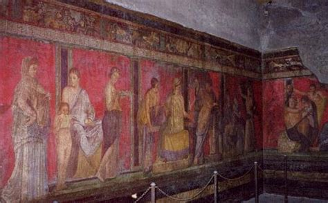 misterio en la villa la pintura romana el estilo ilusionista