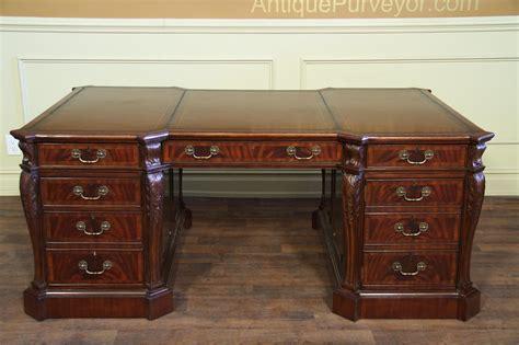 antique leather top desk antique desk with leather top antique furniture