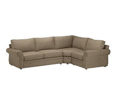 Wedge Sofa Sectional by Pearce Left 3 With Corner Wedge Sectional