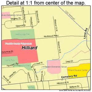 Hilliard Ohio Map by Hilliard Ohio Street Map 3935476