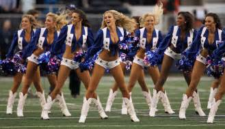 Cheerleaders the 2nd best part of football season faded industry