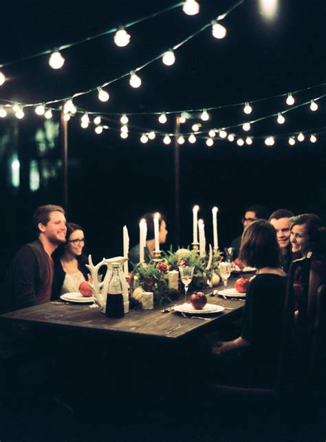 Come With Me Winter Dinner by Melanie Gabrielle Photography Woodsy Winter Kinfolk