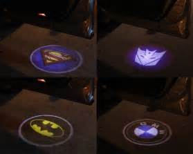 Car Entry Lighting Car Door Batman Symbol Laser Projection Light Craziest