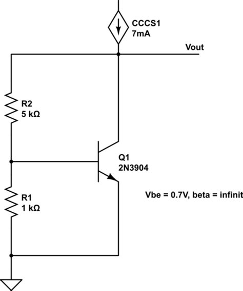 transistor vbe analog calculating output impedance of vbe multiplier electrical engineering stack exchange