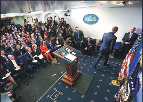 us president barack obama walks away after his final