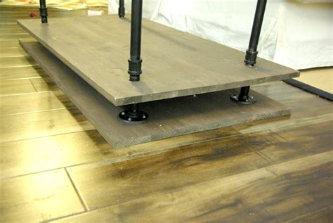 Plumbing Pipe Tv Stand by Diy Tv Stand A Blend Of Industrial Rustic And Modern