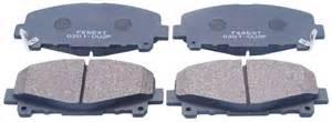 front disc brake pad kit for honda accord cu 2008 oem