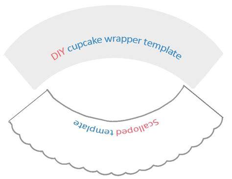 cupcake liner template diy cupcake wrapper templates paper