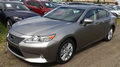 lexus atomic silver es350 executive demo atomic silver 2015 lexus es 350 fwd touring