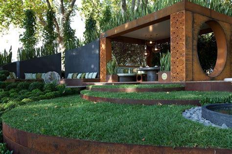 gold award winning garden from the melbourne international