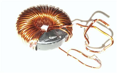 spiral inductor type coil unidentified inductor type opposing turn wound toroid electrical engineering stack