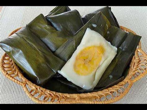 youtube membuat kue basah quot resep cara membuat kue basah tradisional nagasari quot youtube
