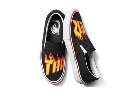 Thrasher X Vans thrasher vans flames logo collection release info