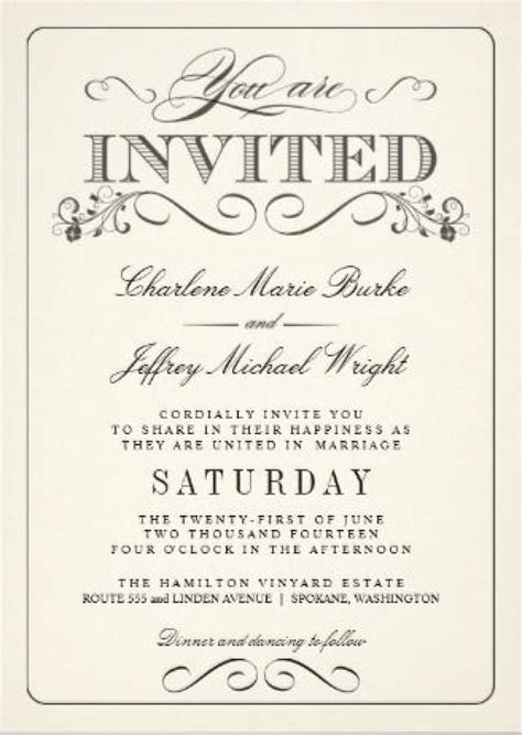 you are invited template you are invited template fundraising form template bank