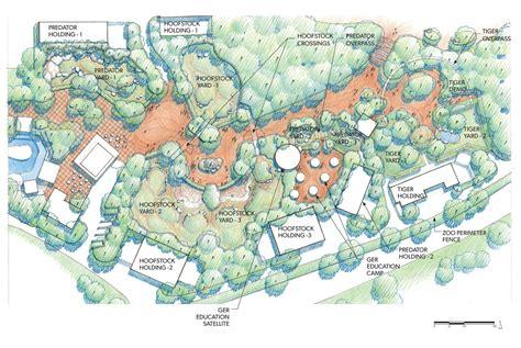 Home Design Open Plan by Master Plan Asian Highlands Amp Asian Predators Denver Zoo