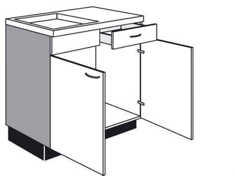 schublade zeichnung sp 252 len unterschrank mit schublade