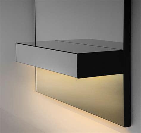 hacienda white wall mounted rgb led mirror contemporary 3rings mirror mirror lighting trend