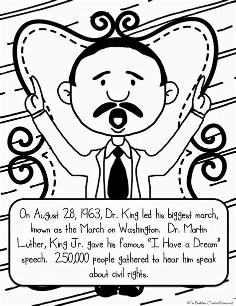 Martin Luther King Jr Coloring Pages Coloring Home Martin Luther King Coloring Pages For Kindergarten