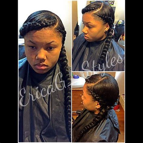 2 jumbo braids hairstyles jumbo braids ericag styles http community