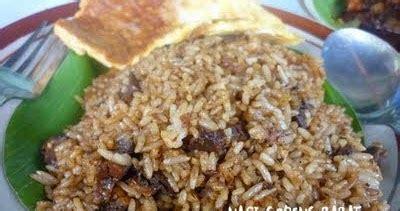 latar belakang membuat nasi goreng kulinersemarang nasi goreng babat mberok quot pak karmin quot jl