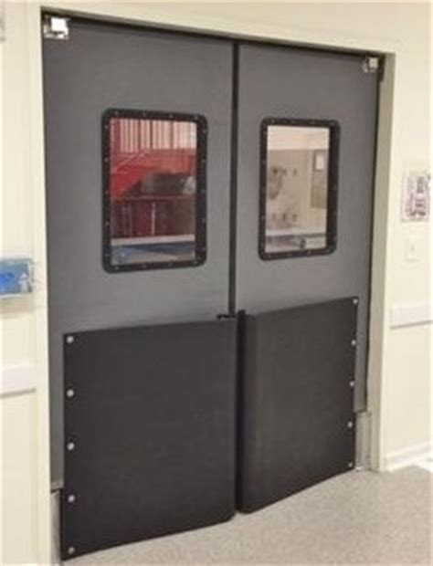 commercial swinging door traffic doors for supermarkets impact swing door with