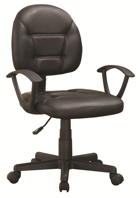 black executive desk home office furniture coaster office chairs black office chair knight