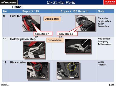 Karet Kick Stater Ahm Honda Untuk Semua Bebek tmcblog 187 detail honda supra x 125 helm in ada yang dikurangi ada juga yang
