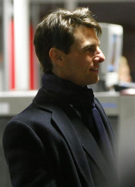 The Germans Welcome Tom Cruise by Tom Cruise In The Valkyrie Cast Leaving Germany Zimbio