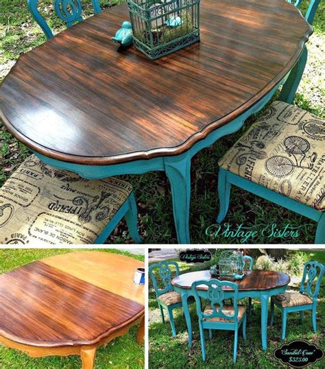 Refurbished Dining Table 25 Best Ideas About Refurbished Chairs On Pinterest Refinished Chairs Refurbished Dining