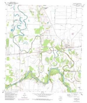 map of fulshear texas fulshear topographic map tx usgs topo 29095f8