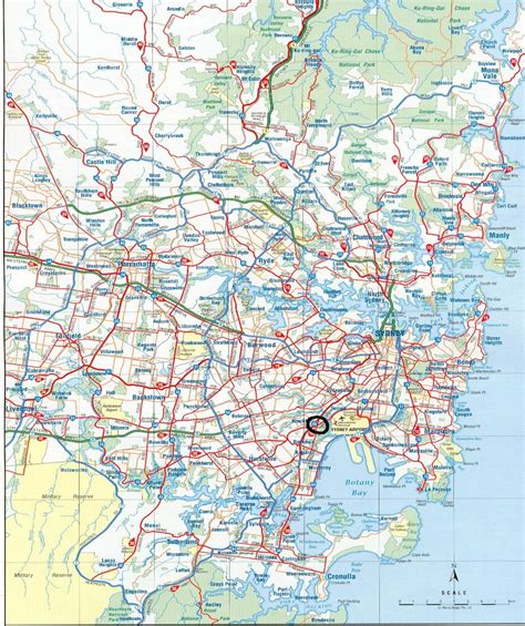 suburbs of map map of sydney suburbs pictures to pin on pinsdaddy