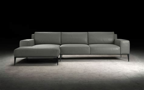 modern chaise sectional elizabeth modern sectional left facing chaise modloft