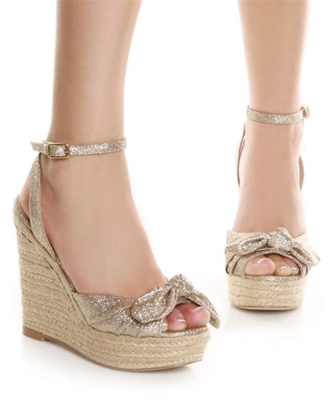 trend of espadrilles and cork wedge shoes