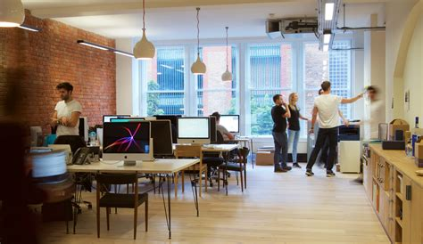 Office by Take A Look At Ragged Edge S Super Cool London Office
