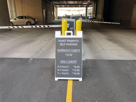 Hyatt Regency Parking Garage by Map Directions Capital Cruises