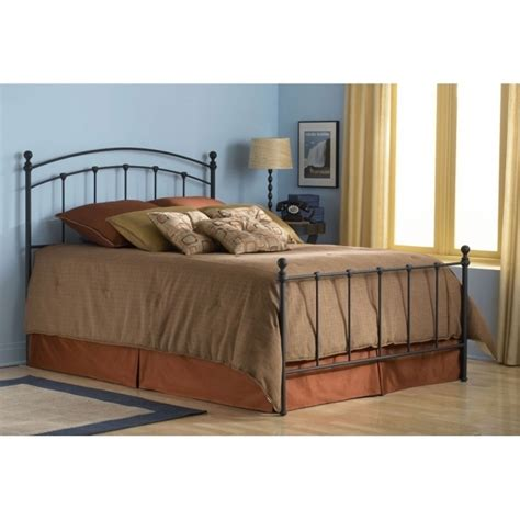 king metal bed frame headboard footboard king metal bed home design ideas and inspiration