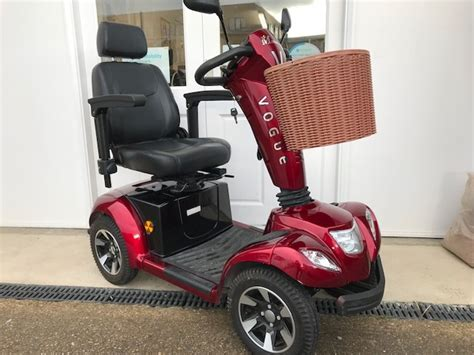 monarch vogue pre owned mobility scooters oakham