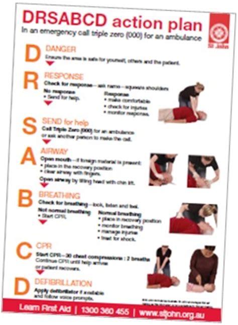 first aid fact sheets st john ambulance tasmania