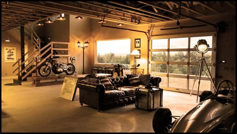 20 cool living spaces inside of garages living rooms room and interiors