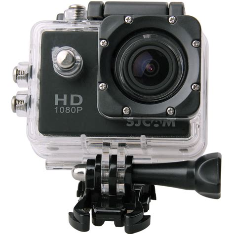 action cam sjcam sj4000 action camera black sj4000b b h photo video