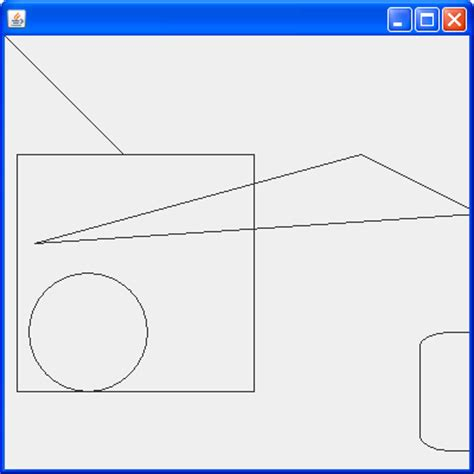 java swing 2d graphics draw 2d shape graphics 171 2d graphics 171 java tutorial