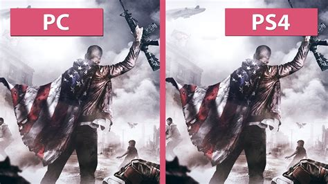 Homefront Ps4 homefront the revolution pc vs ps4 graphics comparison
