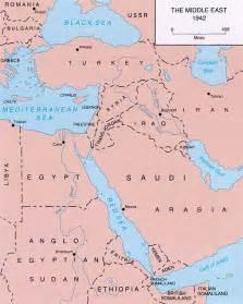 middle east map pre world war libya