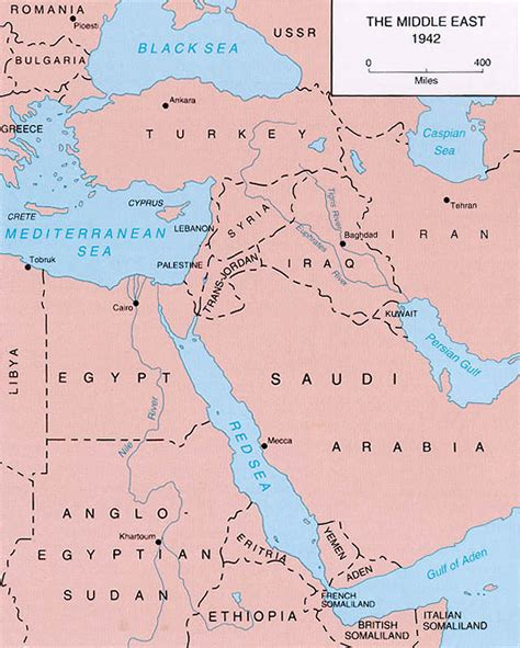 middle east map pre 1940 file the middle east 1942 jpg
